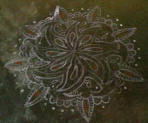 Rangoli: Home basic kolams-5