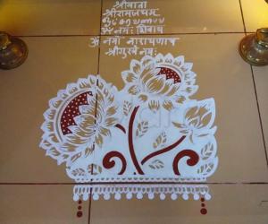 2019- Pooja Room Kolams