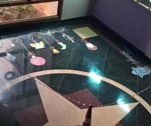 Rangoli: 2015-Christmas -Lobby-1