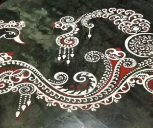Rangoli: 2018- Varalakshmi Vratam