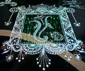 Rangoli: 2016-Ganesh Chaturthi-Lobby-1