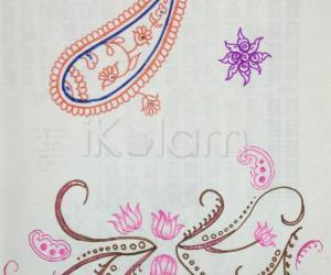 Kolam Notebook Kolams- 132