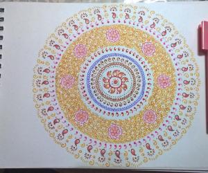 Kolam Notebook Kolams- 139