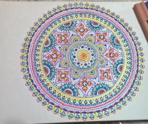 Kolam Notebook Kolams- 144