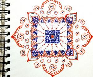 Kolam Notebook Kolams
