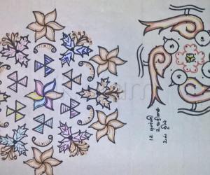 Kolam Notebook Kolams- 28