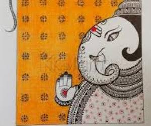 Kolam NotebooK- Artwork- Ganapathy