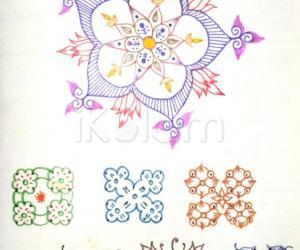 Kolam Notebook Kolams- 63