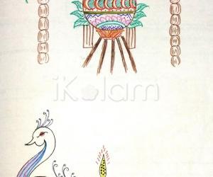 Kolam Notebook Kolams- 70