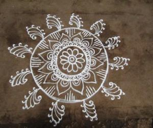 Rangoli: Free Hand Kolam!