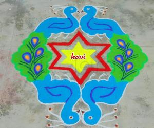 Rangoli: Pretty Peacocks