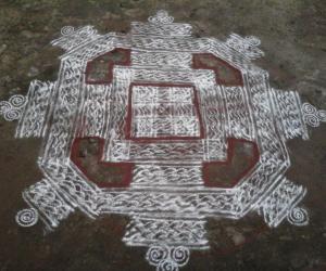 Rangoli: Makolam2
