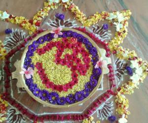 Urli flower decoration