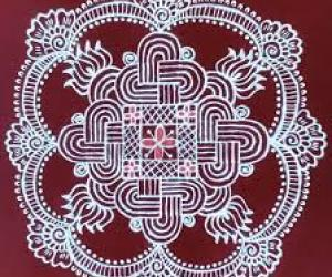 Tamil new year special kolam