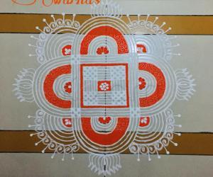 Navaratri special day 1 orange