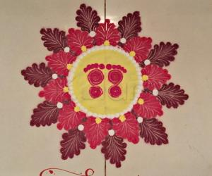 Navaratri Day 3: Red colour
