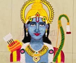 Sri Ramanavami special rangoli