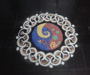 Rangoli: colour rangoli