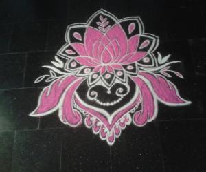 Navarathiri rangoli