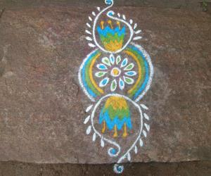 Rangoli: regular 11