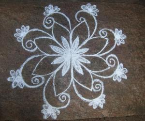 Rangoli: regular 13