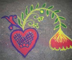 Rangoli: Happy bogi