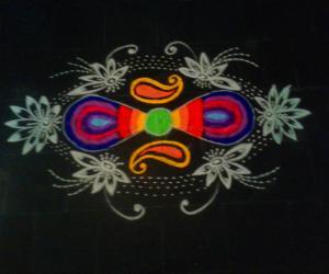 Chithirai Thiruvizha rangoli 2