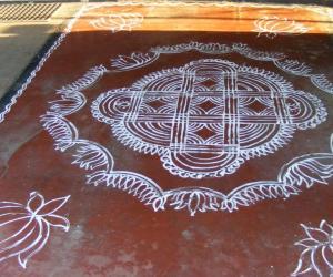 Rangoli: maakolam 3