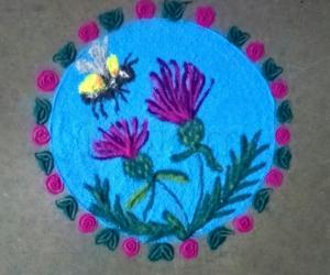 Bee n flowers