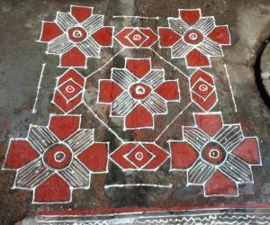 navarathri kolam