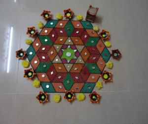 Rangoli: Happy Deepavali
