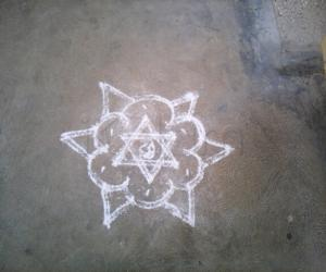 Rangoli: Every day kolam