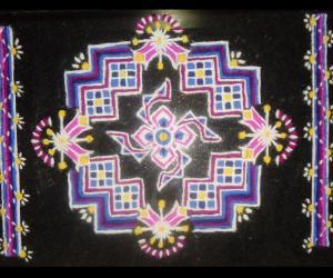 Rangoli: Checkered