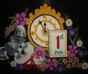 Rangoli: Happy 2015!!!