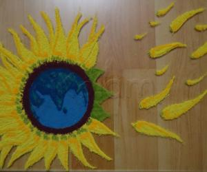 Rangoli: Earth Day Every Day