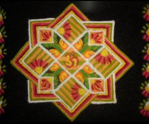 Rangoli: Happy Ugadi