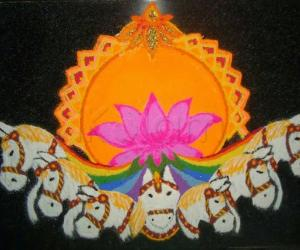 Rangoli: Ratha Saptami Special