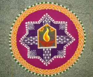 Rangoli: Tamil New Year Wishes!
