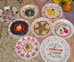Aarthi Plates : aarti plate decoration - Pezcame.Com