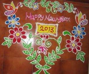 new year special kolam