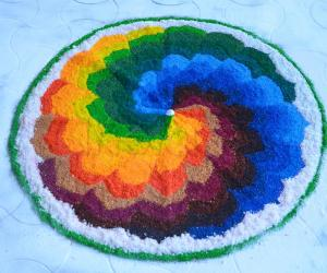 Wedding Rangoli