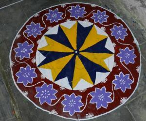Rangoli: Paint Rangoli For Pongal
