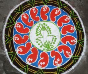 Rangoli: Margazhi Rangoli 6