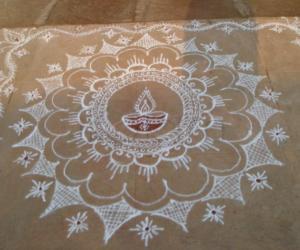 Rangoli: Deepavali 2012