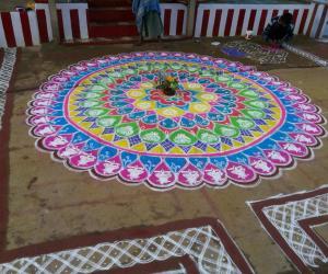 Sankranthi rangoli