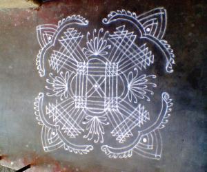 Rangoli: Aadi thabasu special kanya kollam