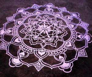 Rangoli: Margazhi day-10-Christmas spl kolam