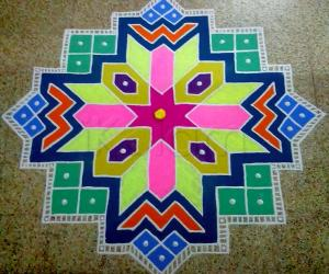 Rangoli: Welcome Margazhi :-)