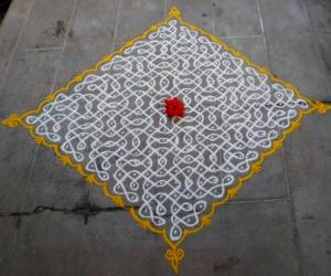 Thanksgiving kolam