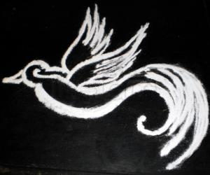 World sparrow day rangoli